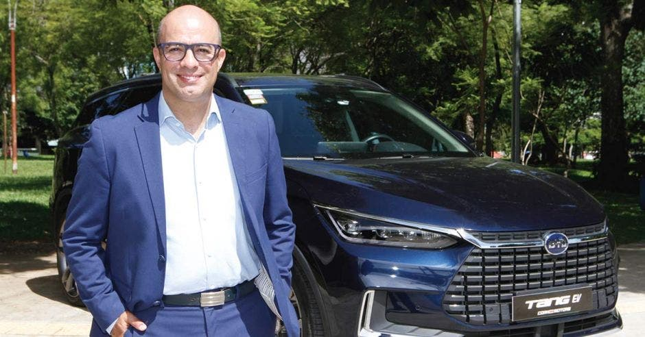 Jorge martinez auto eléctrico