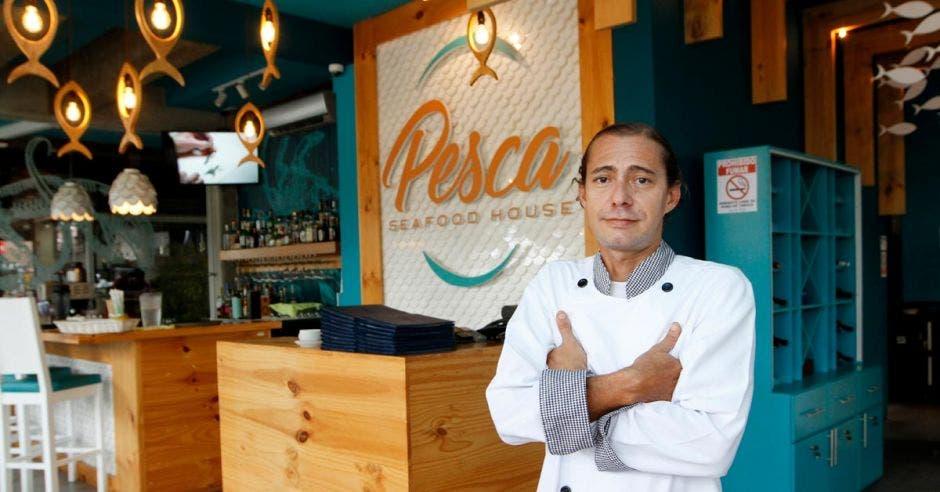 Ariel Viales, chef de Pesca Seafood House.