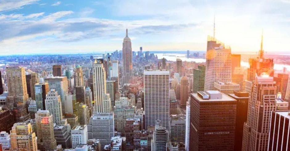 vista aérea de la ciudad de Nueva York