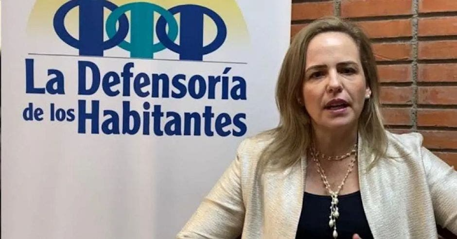 Catalina Crespo, defensora de los habitantes. Archivo/La República.