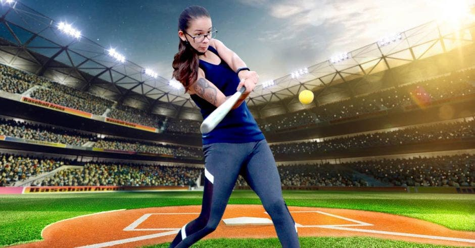Mujer beisbol