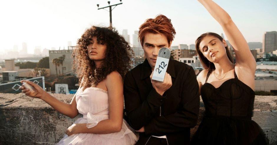Campaña de perfume