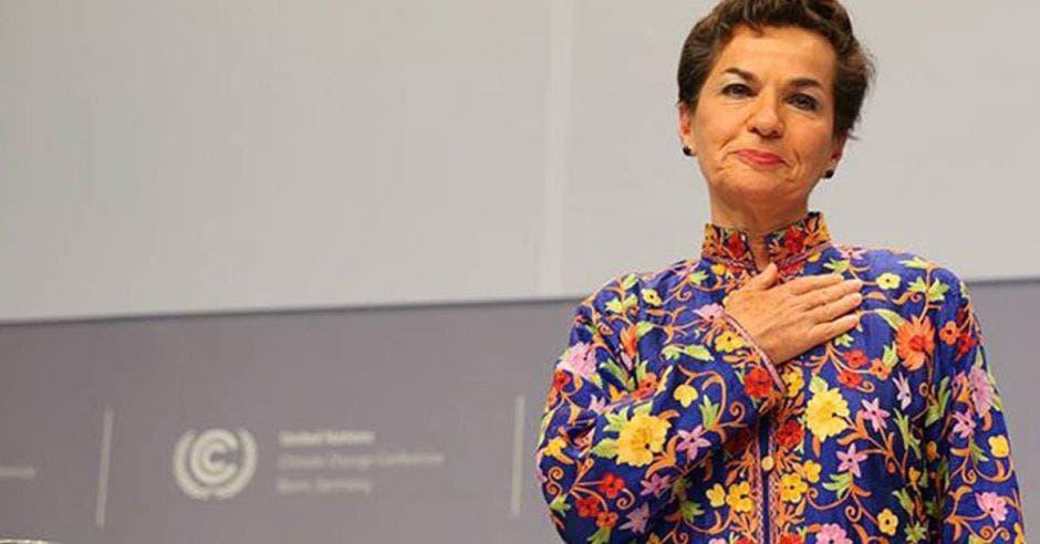 Christina Figueres. Archivo/La República.