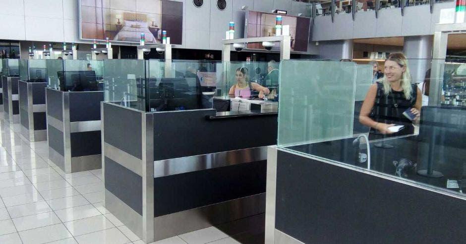 modulo de migración en Aeropuerto Internacional Juan Santamaría