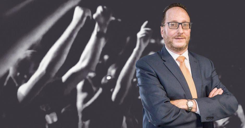 Eli Feinzaig, candidato del Partido Liberal Progresista. Archivo/La República.