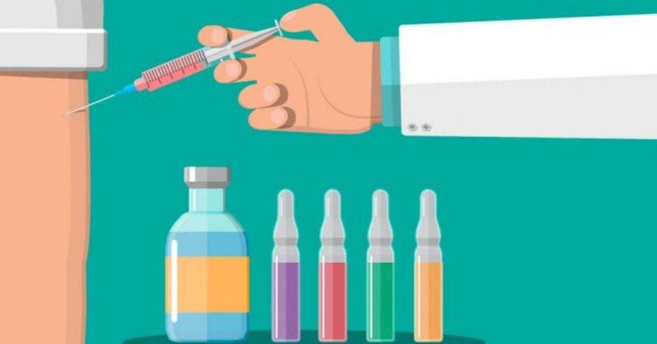 diseño sobre vacunación