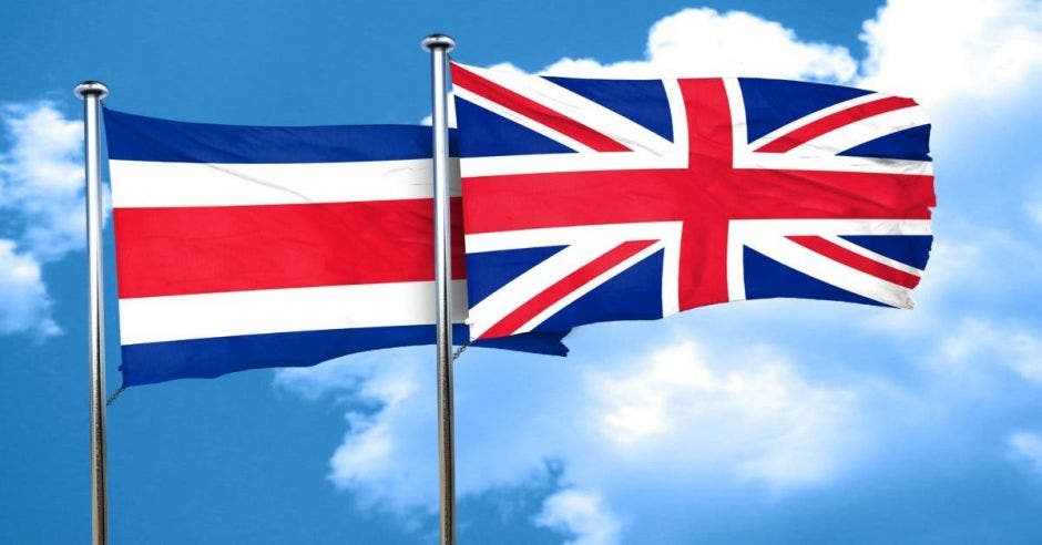 banderas Costa Rica Reino Unido
