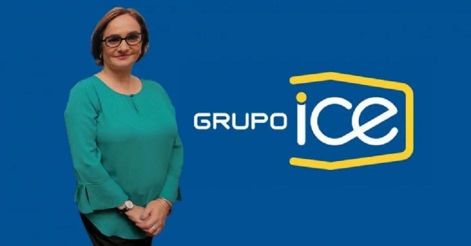 Irene Cañas, presidenta del ICE. Archivo/La República.