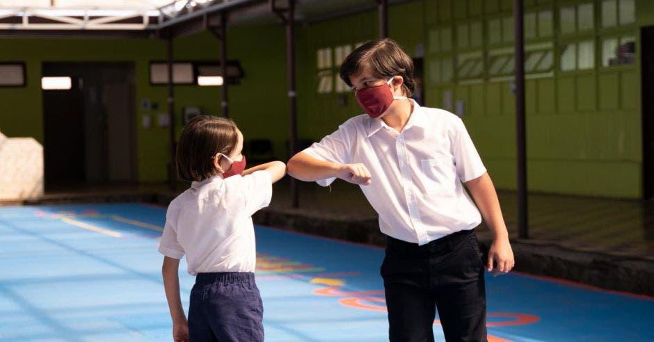 educación niños en la escuela