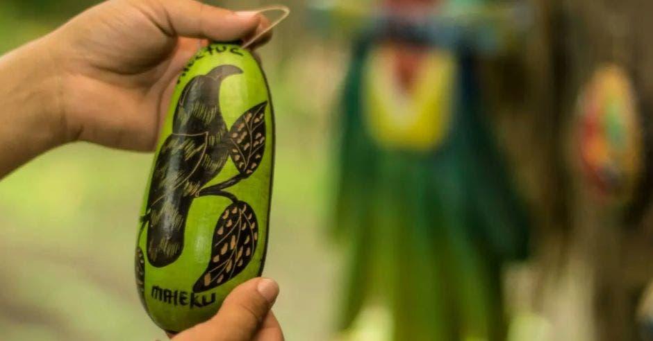 artesanía de la comunidad Maleku