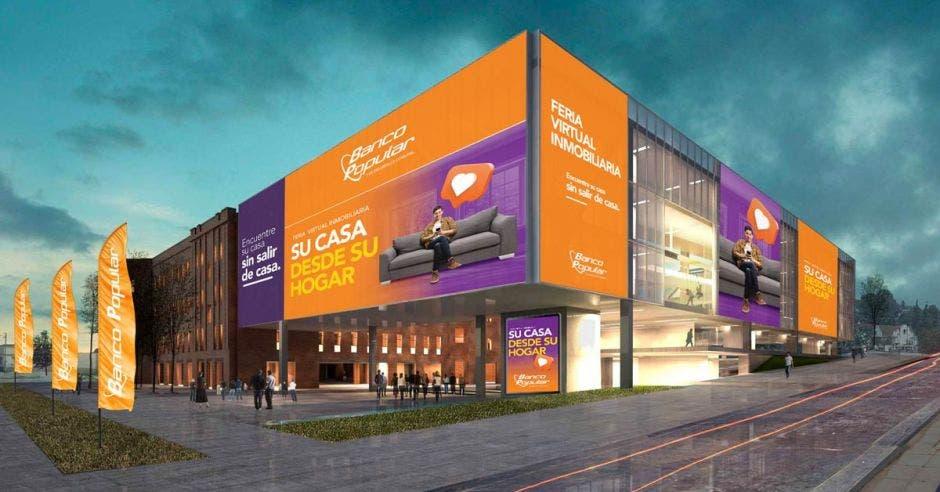 Edificio virtual del Banco Popular