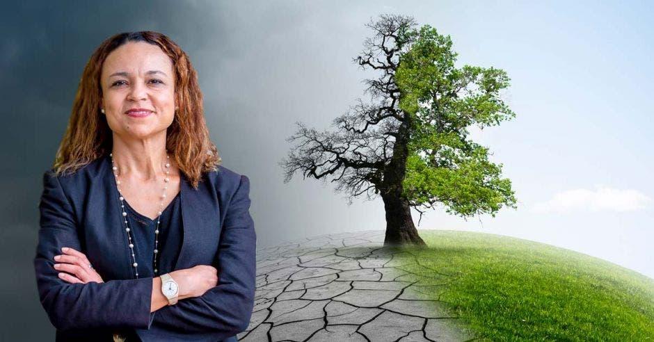 """""""El último reporte de la ONU sobre cambio climático confirma que nuestro país está en el camino correcto al querer prohibir la explotación de petróleo y gas natural"""", dijo Andrea Meza, ministra de Ambiente y Energía. Archivo-Shutterstock/La República."""