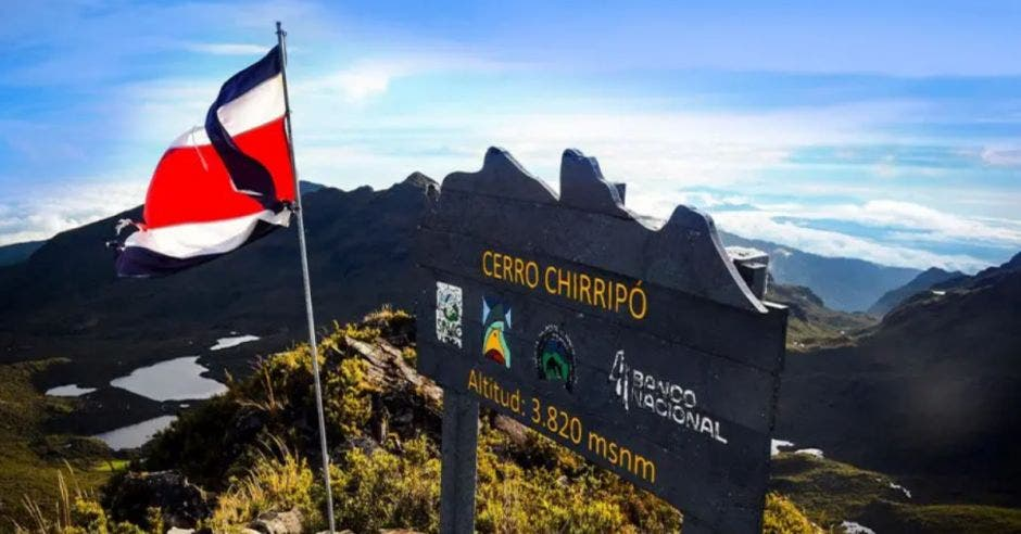 punto más alto del Cerro Chirripó