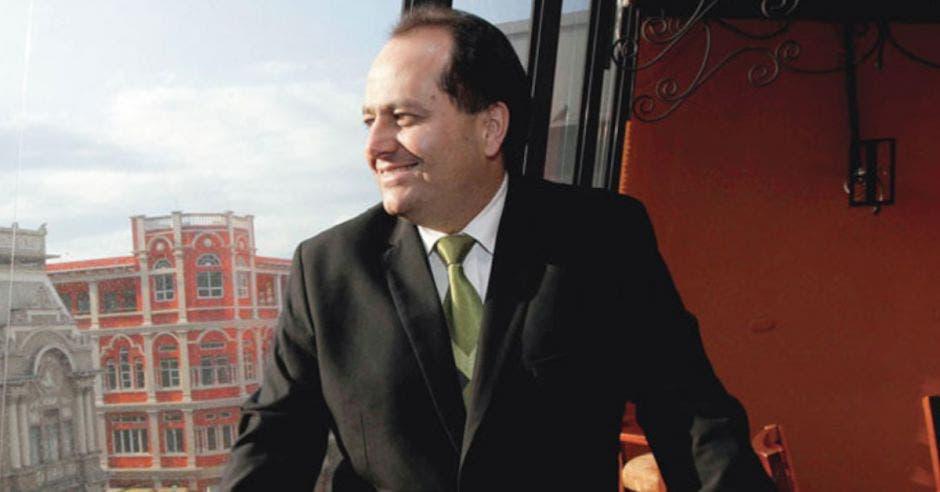 Claudio Alpízar, exprecandidato del PLN. Archivo/La República.