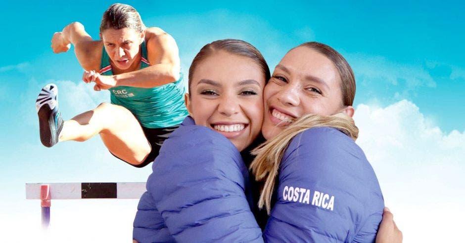 Andrea y Noelia vargas