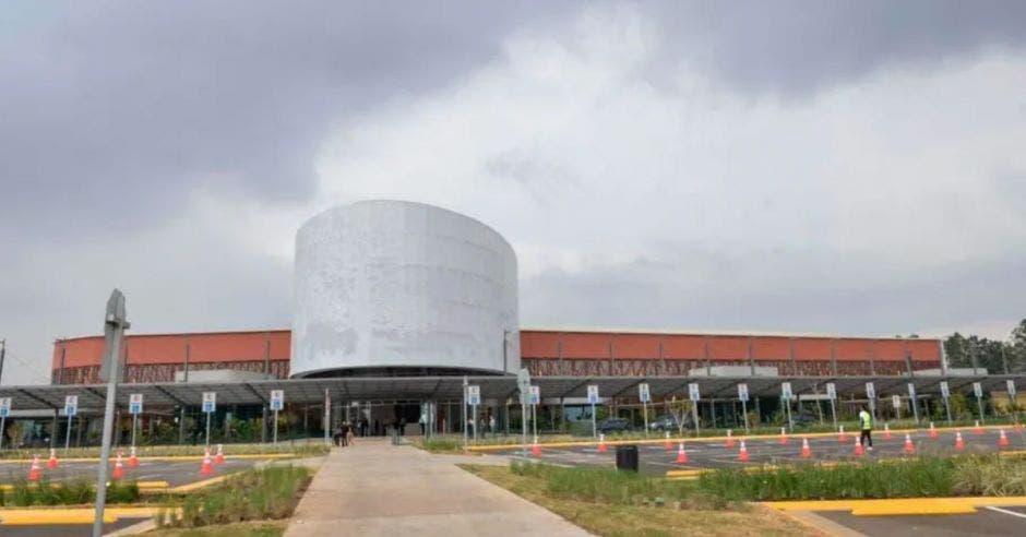 entrada principal del Centro de Convenciones, vista panorámica