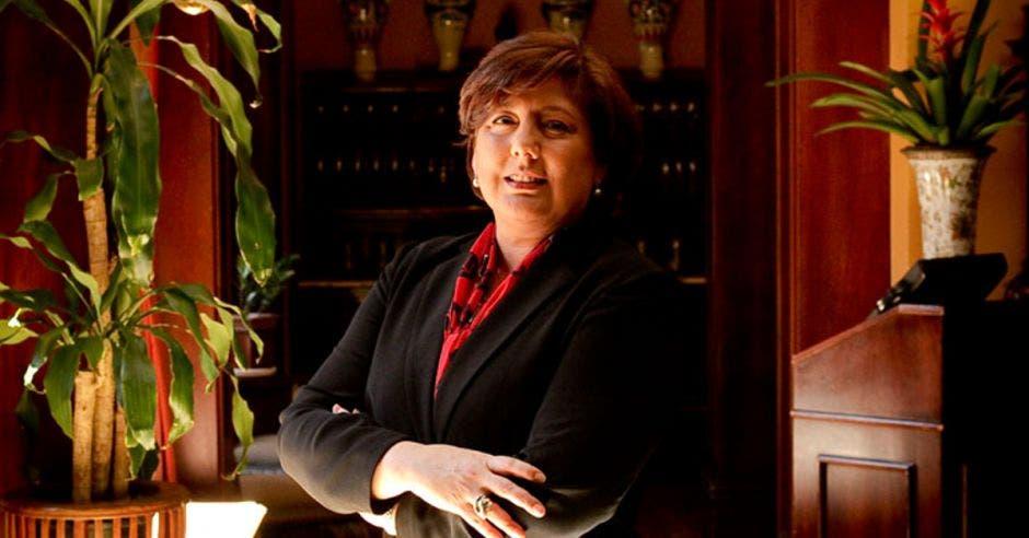 Mónica Segnini, presidenta del Consejo de Competitividad. Archivo/La República.