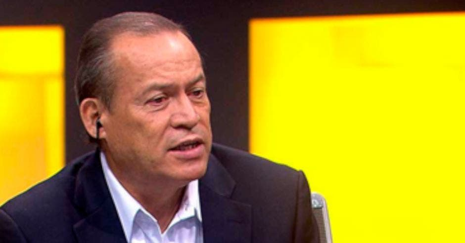 Greivin Moya. Cortesía Canal 7/La República.