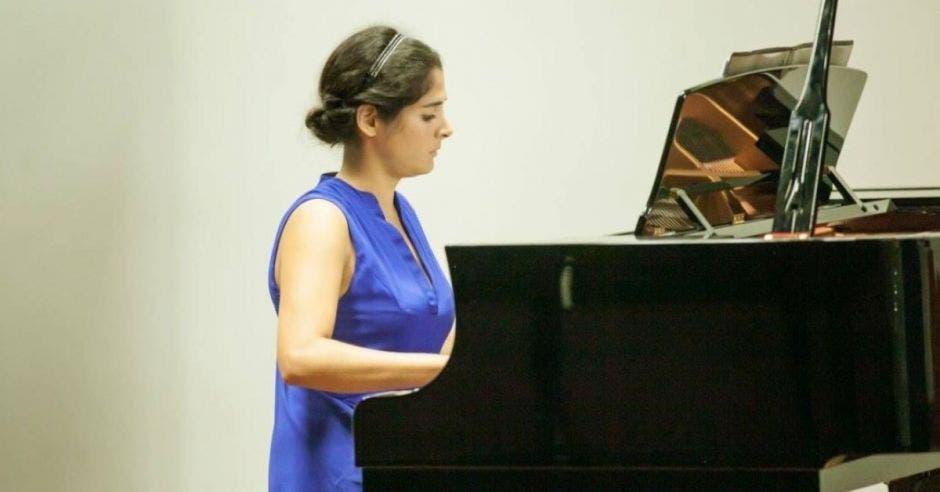 Carolina Ramírez, pianista