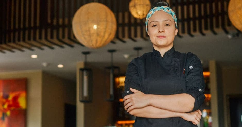 Mónica Peñaranda, chef.