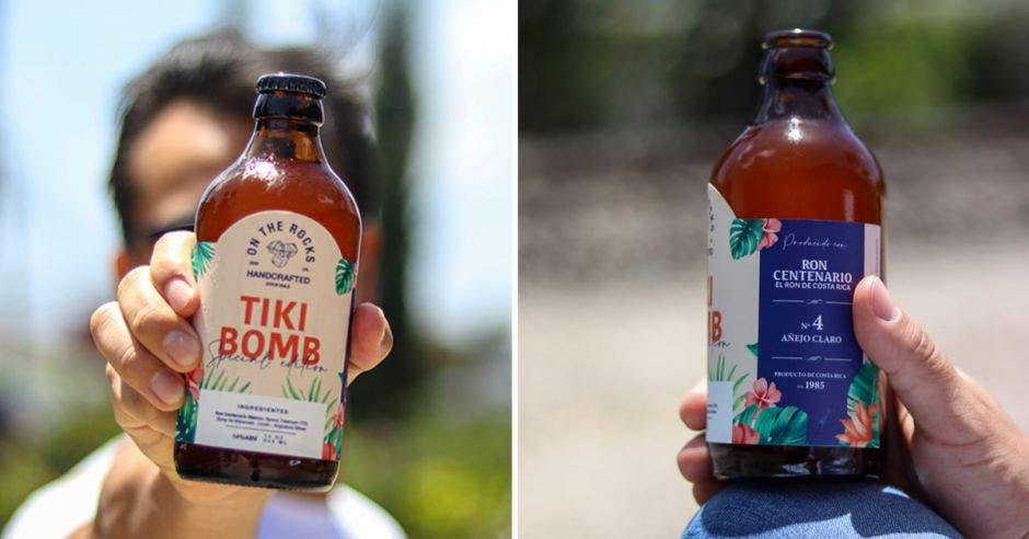 Botella de ron centenario