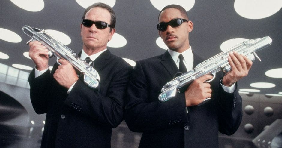 Will Smith y a Tommy Lee Jones