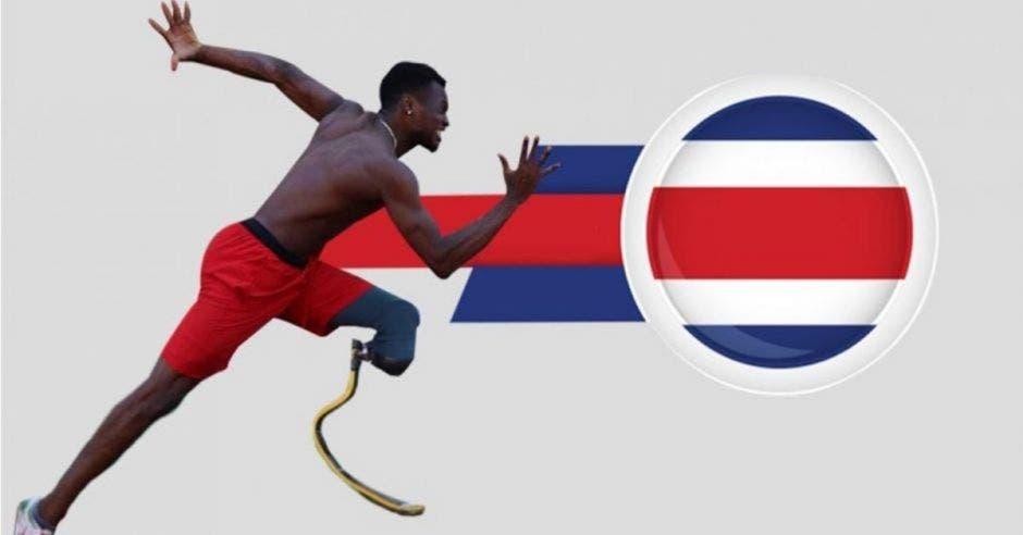 Costa Rica juegos Paralímpicos