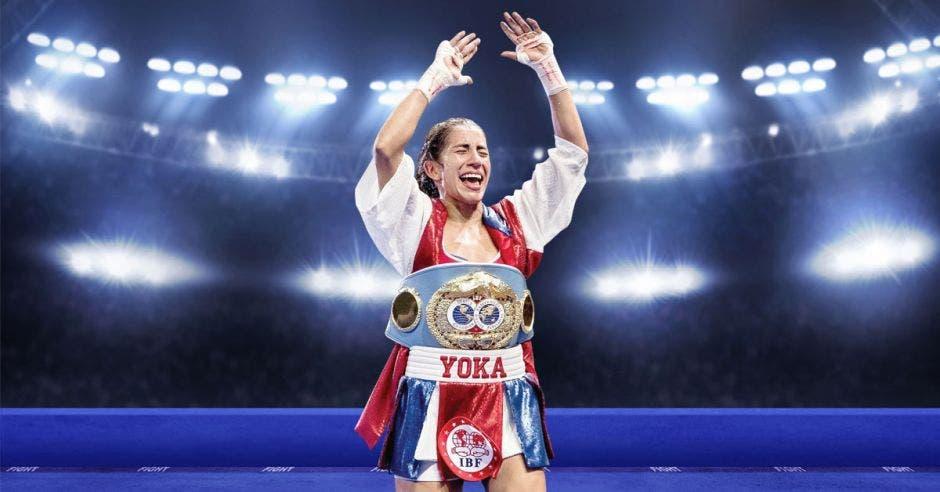 Yokasta Valle: la campeona del pueblo.