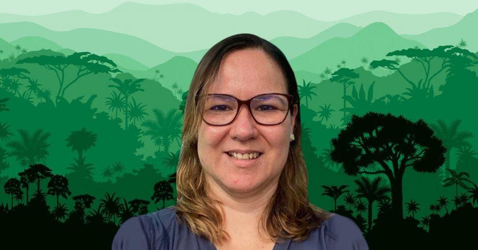 Isabel Hagnauer,Regente Veterinario  Rescate Wildlife Rescue Center. Cortesía/La República.
