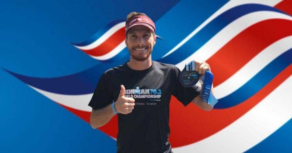 Costa Rica triatlon Ironman hombre