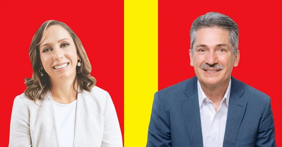 Carolina Hidalgo y Welmer Ramos se disputan la candidatura del PAC. Archivo/La República.