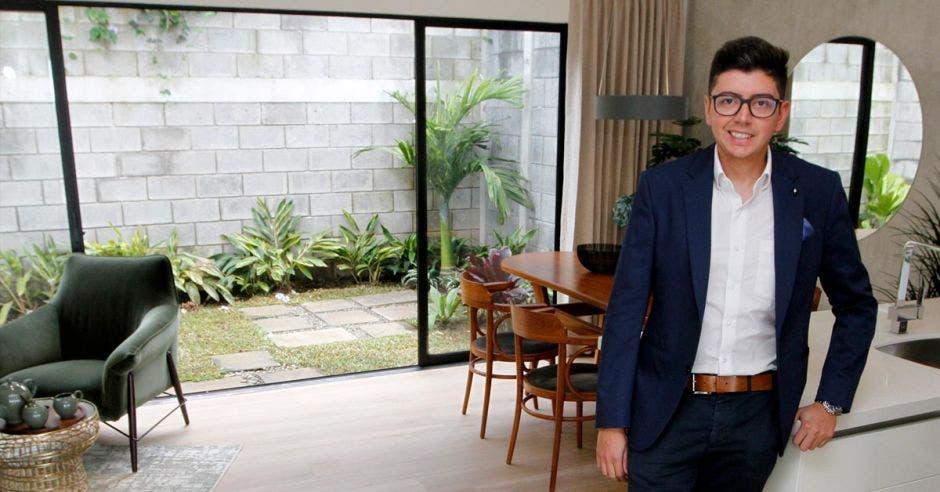 Andrés Borrero, ingeniero y gerente comercial del desarrollador Urbania, dentro del proyecto Naos Condominio Resort