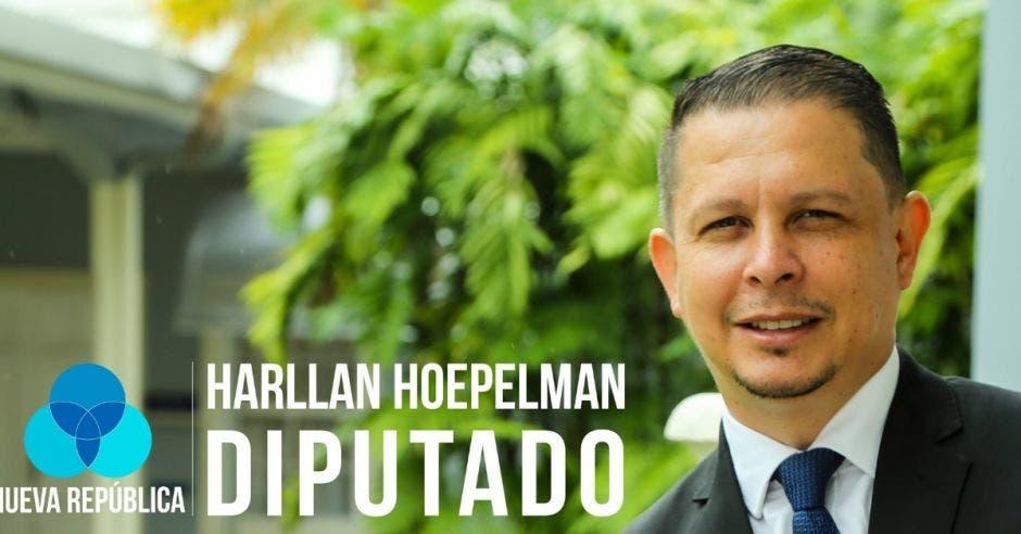 Harllan Hoepelman, diputado de Nueva República. Archivo/La República.