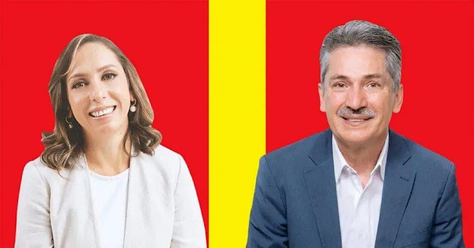 Carolina Hidalgo y Welmer Ramos se disputan la elección en el PAC.. Archivo/La República