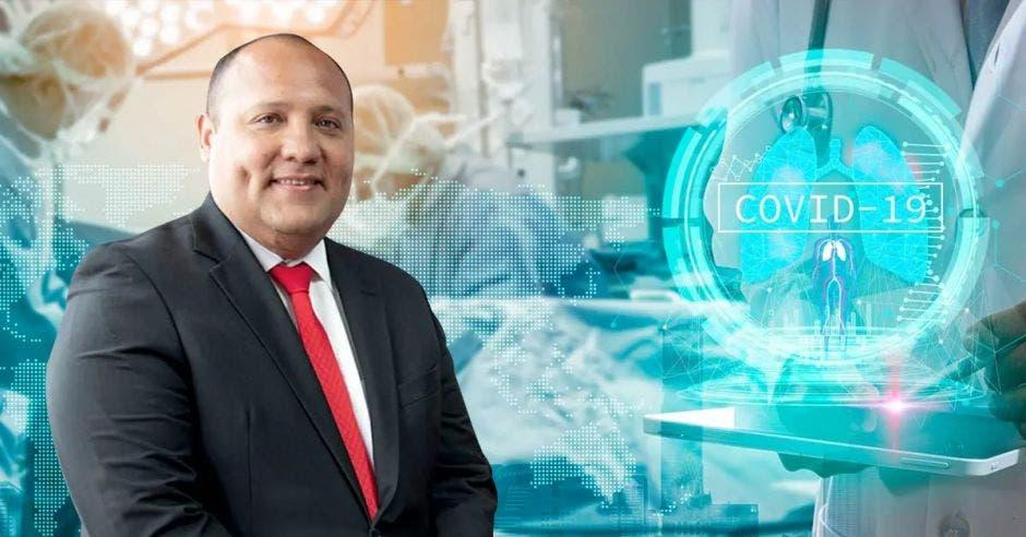 Mario Ruiz Cubillo, gerente médico de la Caja.