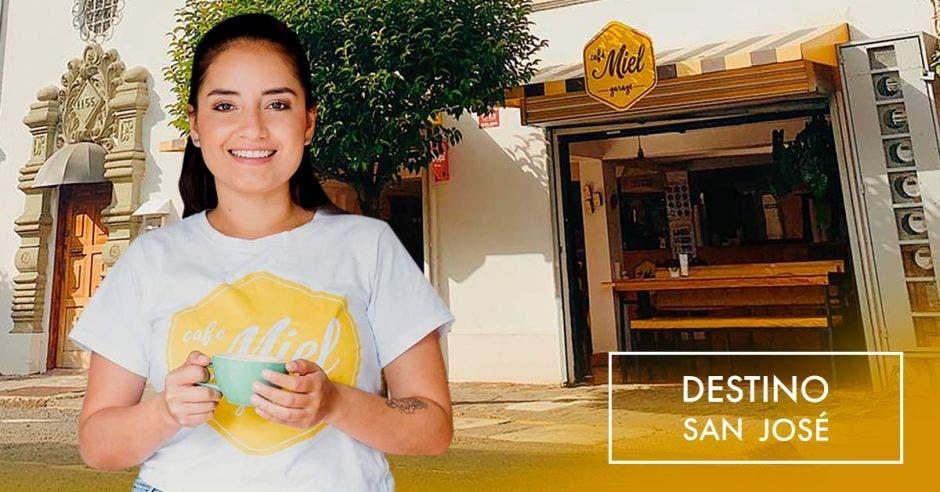Laura Martínez Cañón, propietaria Café Miel. Archivo/La República