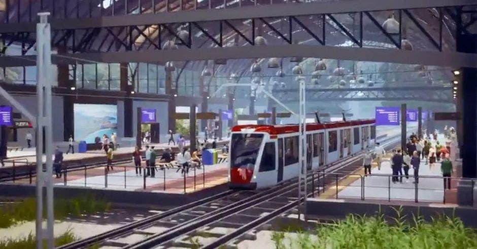 Esta mañana, el mandatario se refirió al proyecto al inaugurar el pago electrónico en la ruta San José – Cartago para el tren. Archivo/La República.