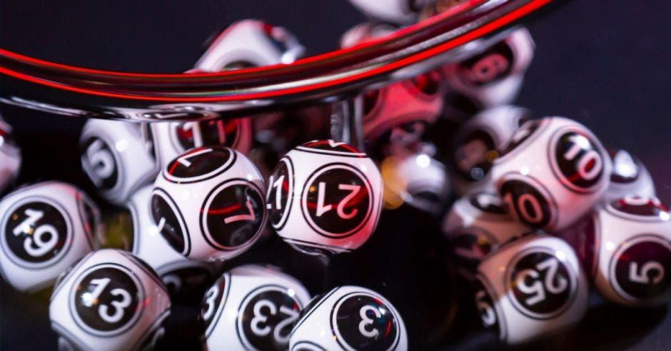 bolitas de lotería