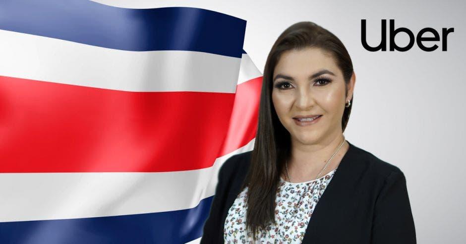 Carolina Coto, vocera de Uber Costa Rica.