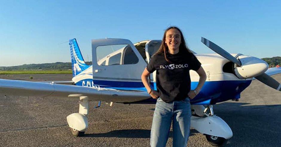 piloto y aeronave
