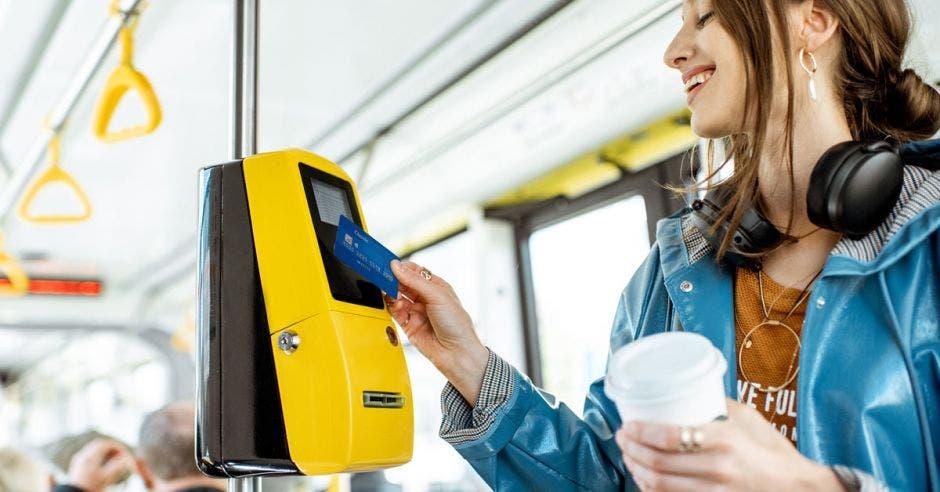 Pago electrónico en transporte público