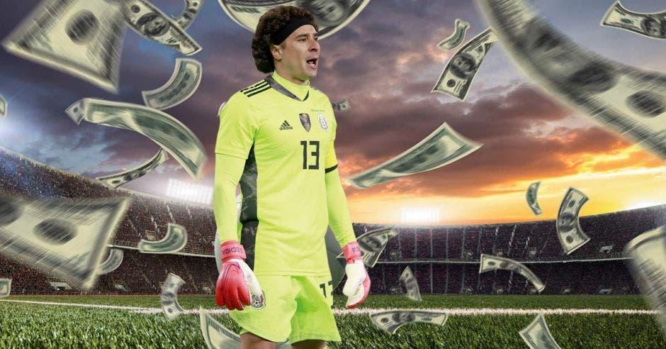 Guillermo Ochoa, millonario portero de la selección mexicana