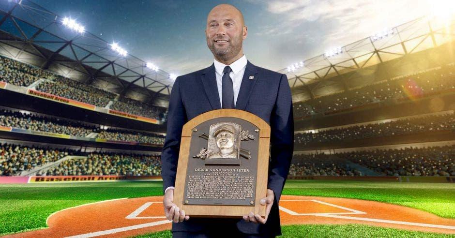 """Se inmortalizó el """"capi"""" de los Yankees"""