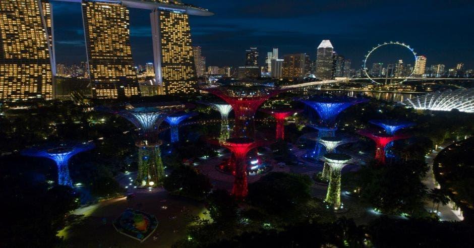 """Gardens by the Bay"" en Singapur"