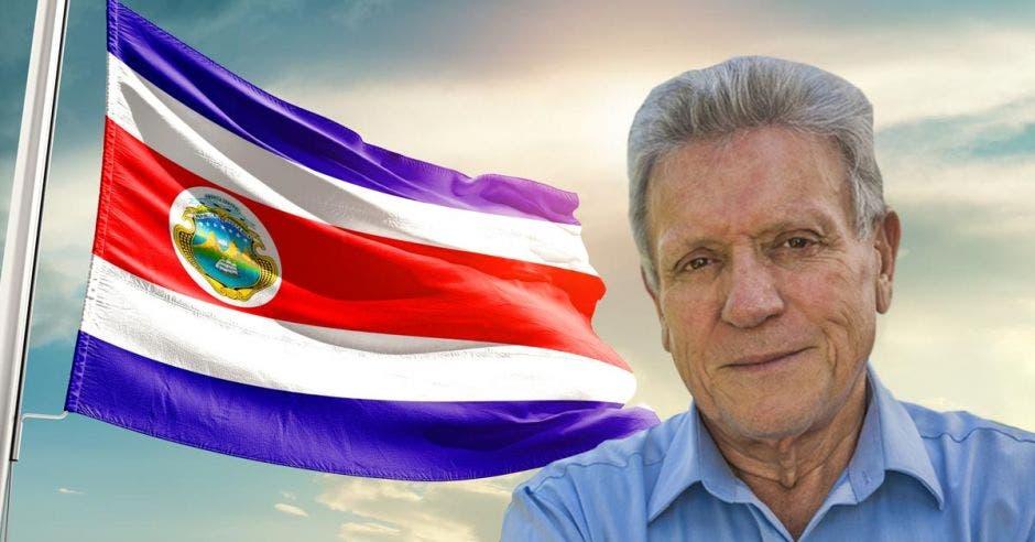 Rolando Araya, candidato de Costa Rica Justa. Archivo/La República.