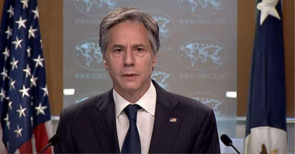 Antony J. Blinken, Secretario de Estado de los Estados Unidos
