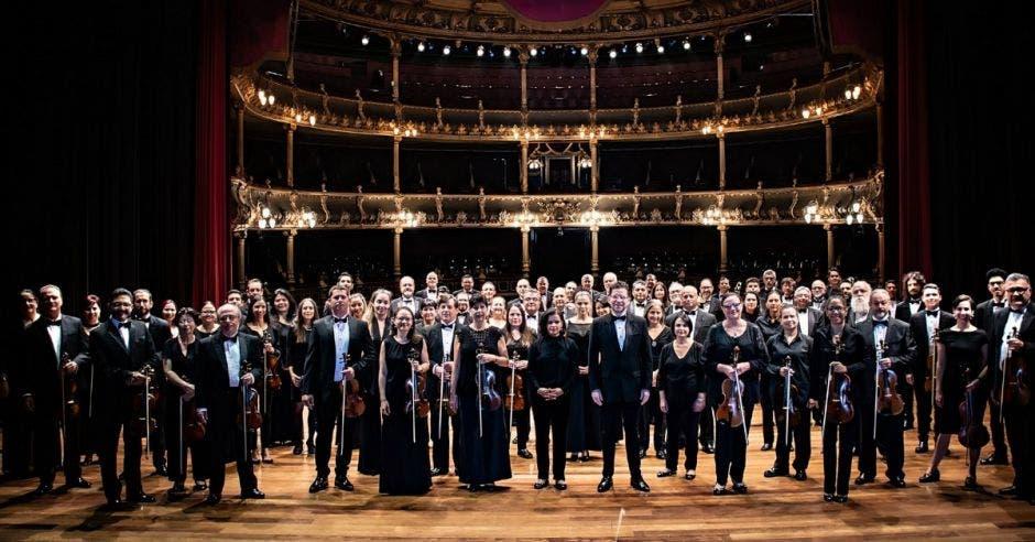 Orquesta Sinfónica Nacional en el Teatro Nacional