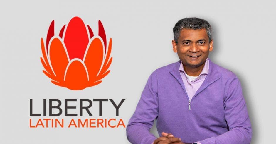 Balan Nairm, CEO de Liberty Latin America,