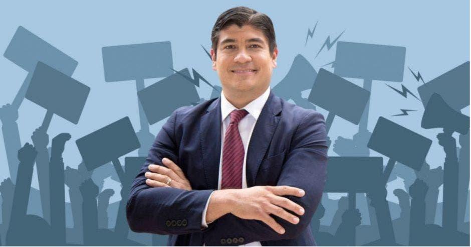 Carlos Alvarado, presidente