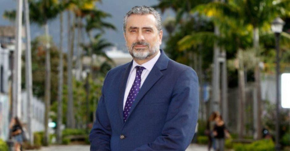 Otto Guevara, candidato a diputado por el partido Unión Liberal. Archivo/La República